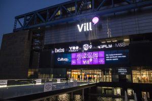 Vill'Up, Paris – Façade extérieure nuit – Apsys - Pierre Vassal