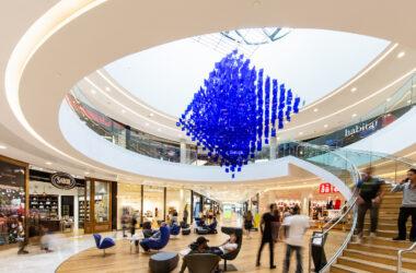 Muse Julio Le Parc Metz Apsys Sublimanie centre commercial