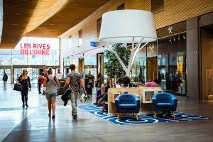Les Rives de l'Orne Mail Apsys Caen centre commercial