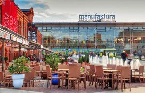 Manufaktura, Łódź-Pologne – Terrasses - Apsys