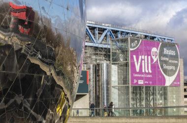 Vill'Up, Paris – Façade extérieure – Apsys - Pierre Vassal