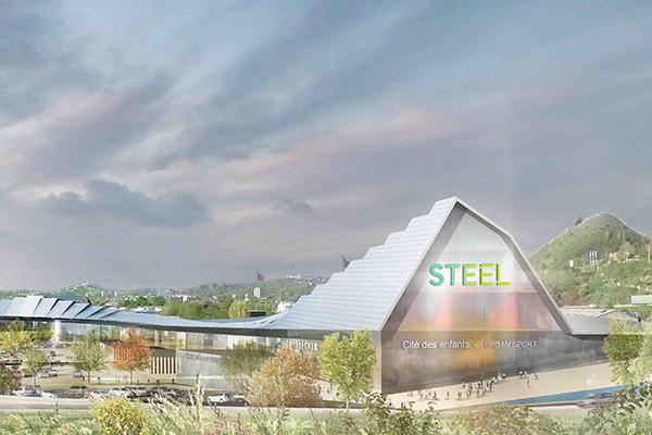 Steel, Saint-Etienne - Apsys - Retail Park