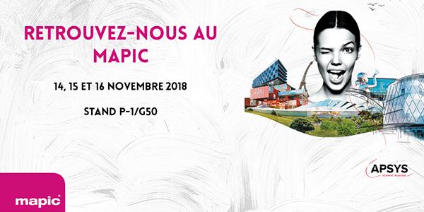 Apsys au Mapic 2018